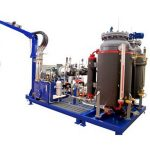 Cyclopentan Hochdruckschäummaschine, 32kw PU-Schaumfüllmaschine