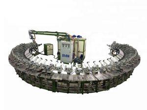 kontinuierliche Produktionslinie für Polyurethanschaum