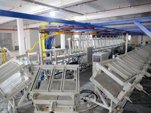 flexible Polyurethanschaum Nackenstütze Kissen Ring Produktionslinie Maschine