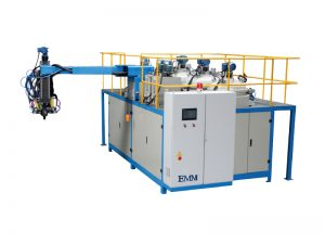 Polyurethan-Gießmaschine