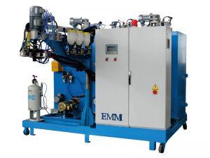 Dreikomponenten-Gießmaschine aus Elastomer